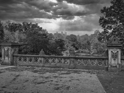 Bridge in Central Park New York