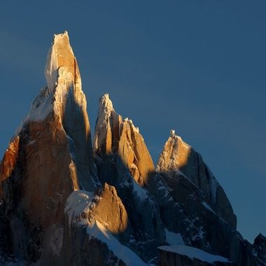 """Cerro Torre is less than a third the height of Everest but 100 times more difficult. For those interested, a marvellous account of the scandal of the first ascent may be found in """"The Tower"""", by Kelly Kordes."""