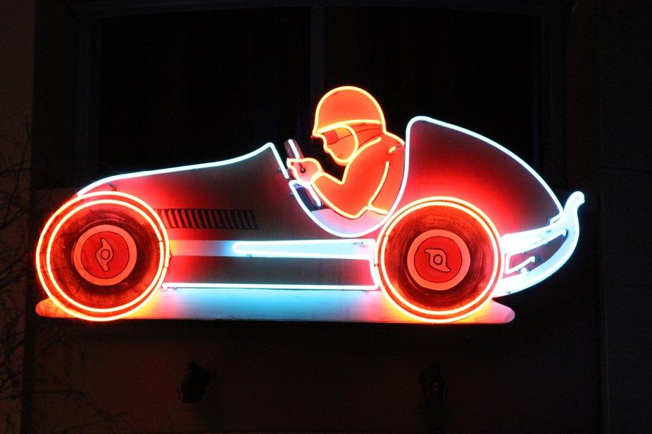 Old LAs Vegas neon
