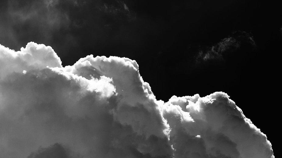 B & W Clouds