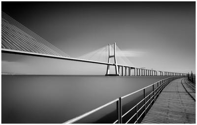 Lisbon's Vasco Da Gama Bridge