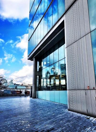 London reflections.