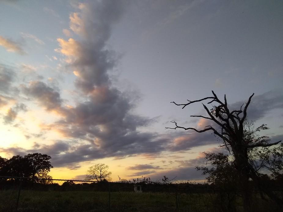 beautiful sun set