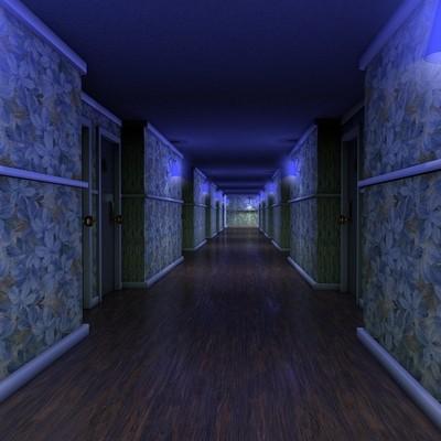 What a sensual hallway