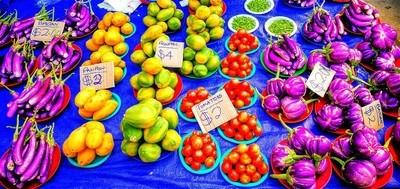 Fresh organic produce at the local markets in Fiji copy