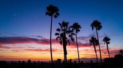 My First Venice Beach Sunset