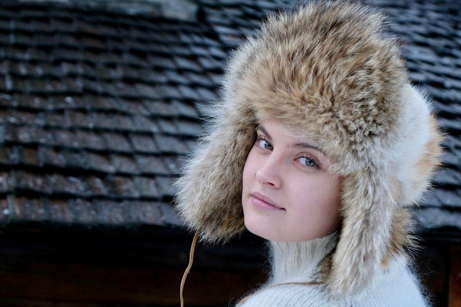 Portrait of Maria, Norway.