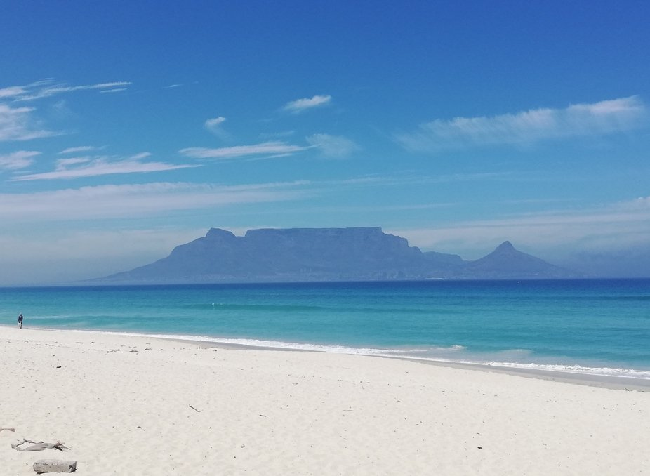 Table Mountain Cape Town - Bloubergstrand
