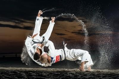 Judo on the beach 2