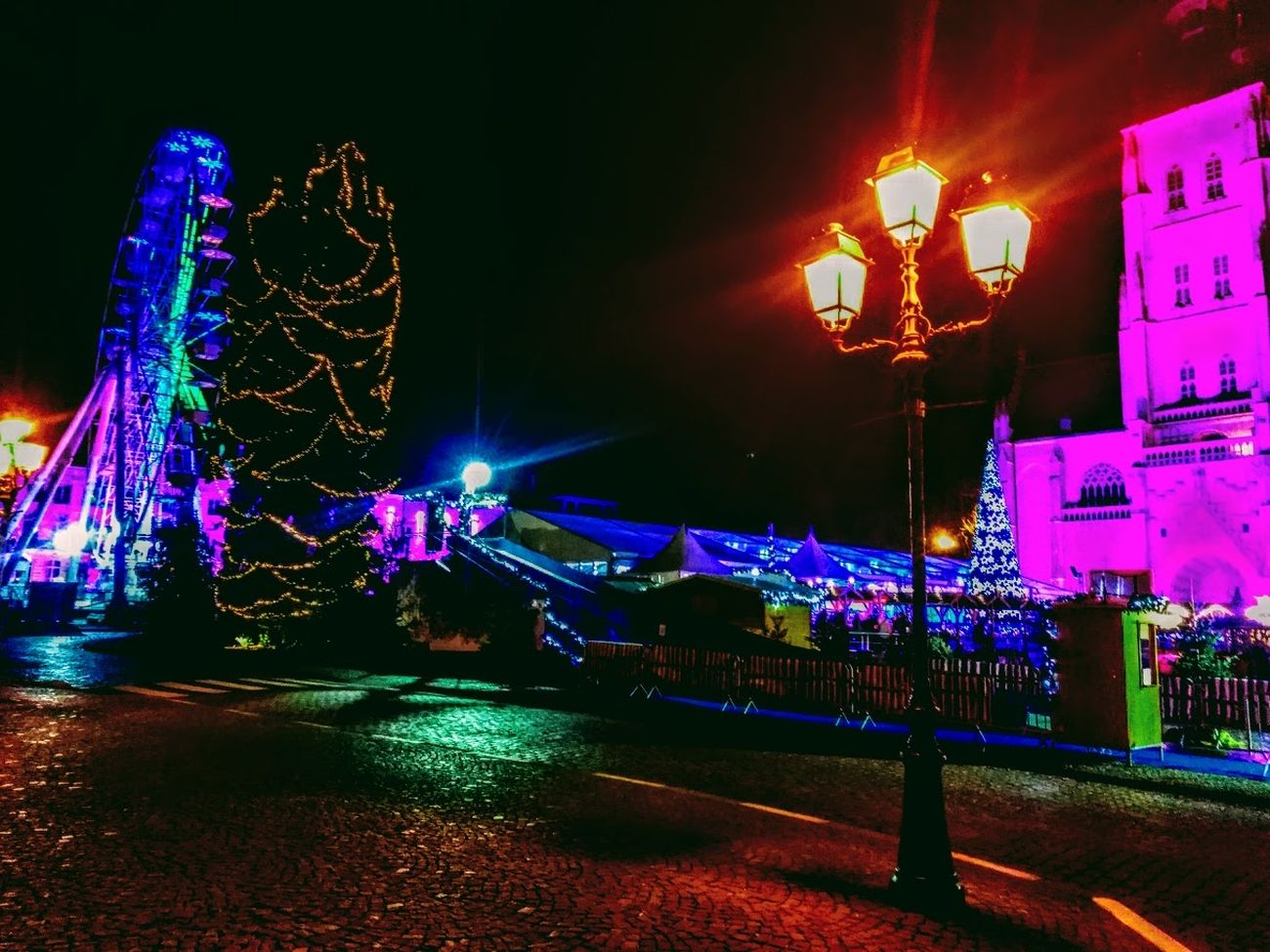 Winter magic in Tienen An annual event in Tienen