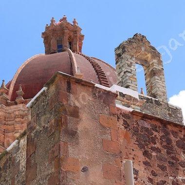 Church dome at Guanajuato, Guanajuato, Mexico