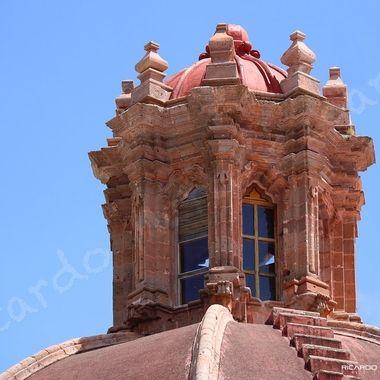 Skylight of church at Guanajuato, Mexico