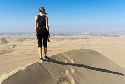 Exploring the dunes
