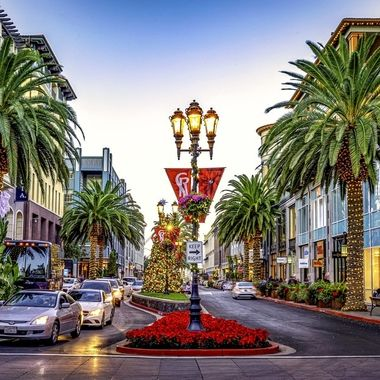 Santana Row Holiday