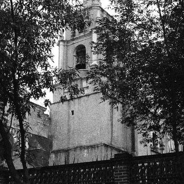 Parroquia de San Agustin de las Cuevas, Tlalpan, Mexico
