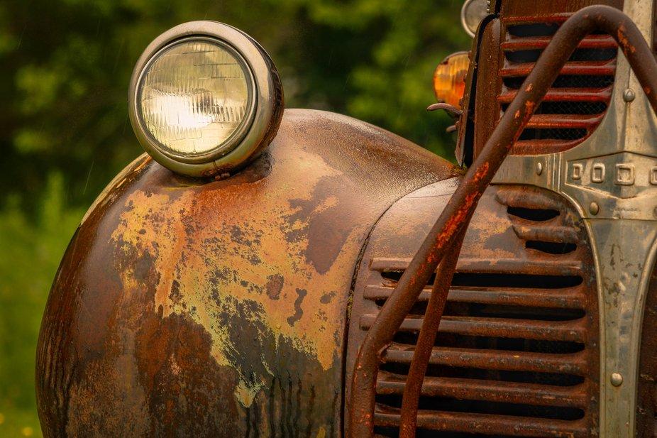 Worn Metal Old Car