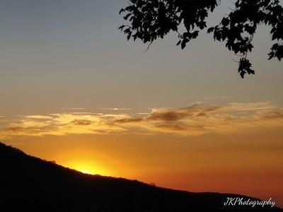 Amazing Golden Sunset