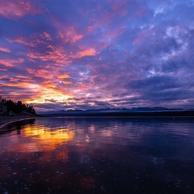 The sky was so gorgeous the other night as the sunset. This is just as the color was breaking thru the clouds. It was amazing to the eyes and really reminded me of how thankful I am for the beauty I see while living in the PNW. Hood Canal, Washington, USA