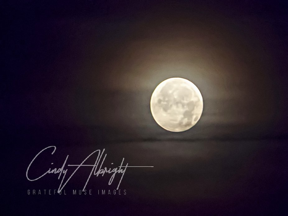 """The final full Moon of 2019.  """"The Cold Moon"""""""