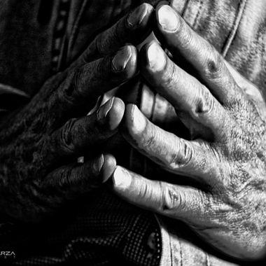 Old-timer hands
