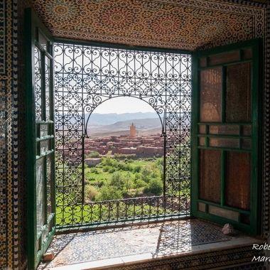De un palacio por la zona del Atlas Marroqui