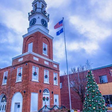 Winnsboro Christmas Card, Winnsboro, SC