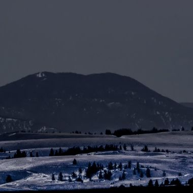 Moon over Kamloops