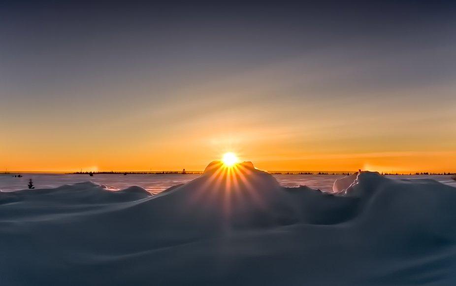 sunset-sundog