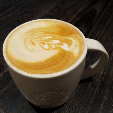 Fascinating presentation of coffee