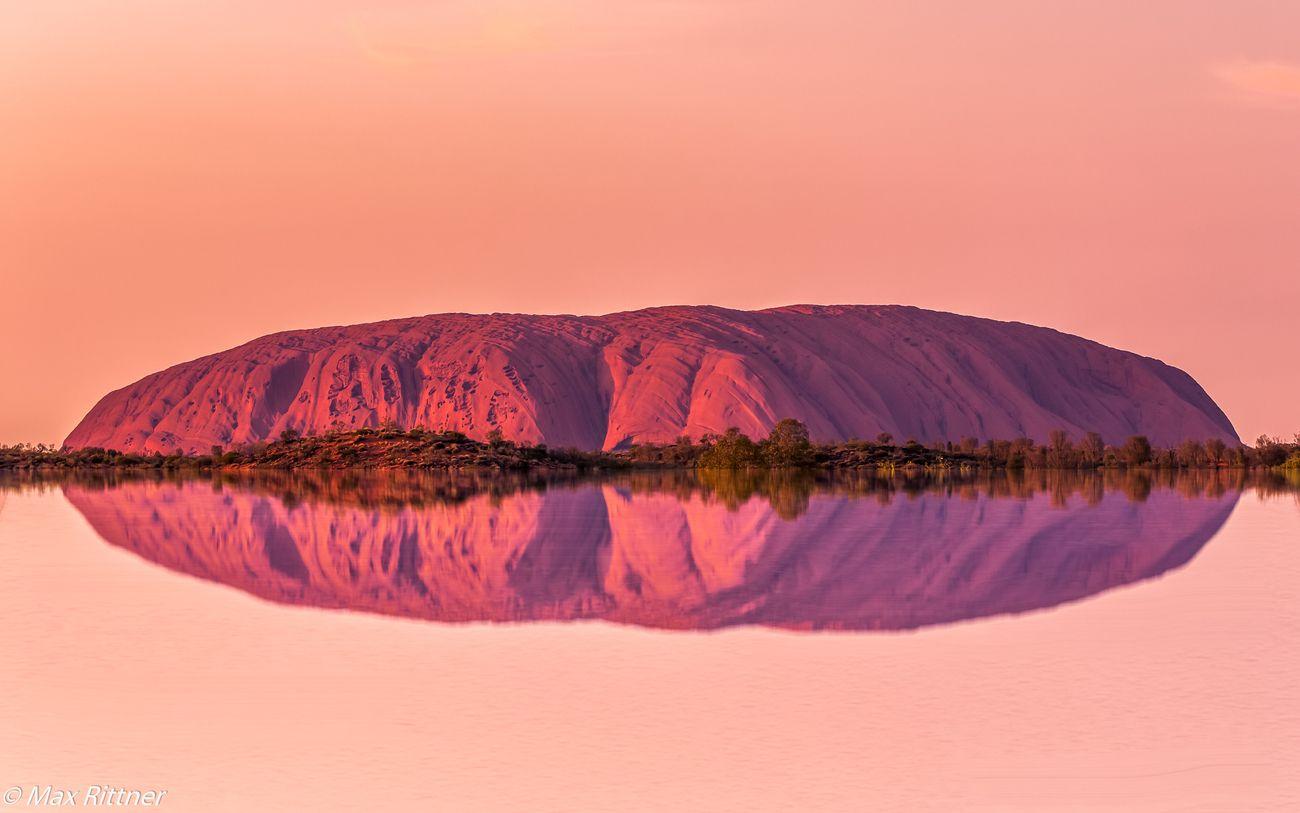Uluru Reflection