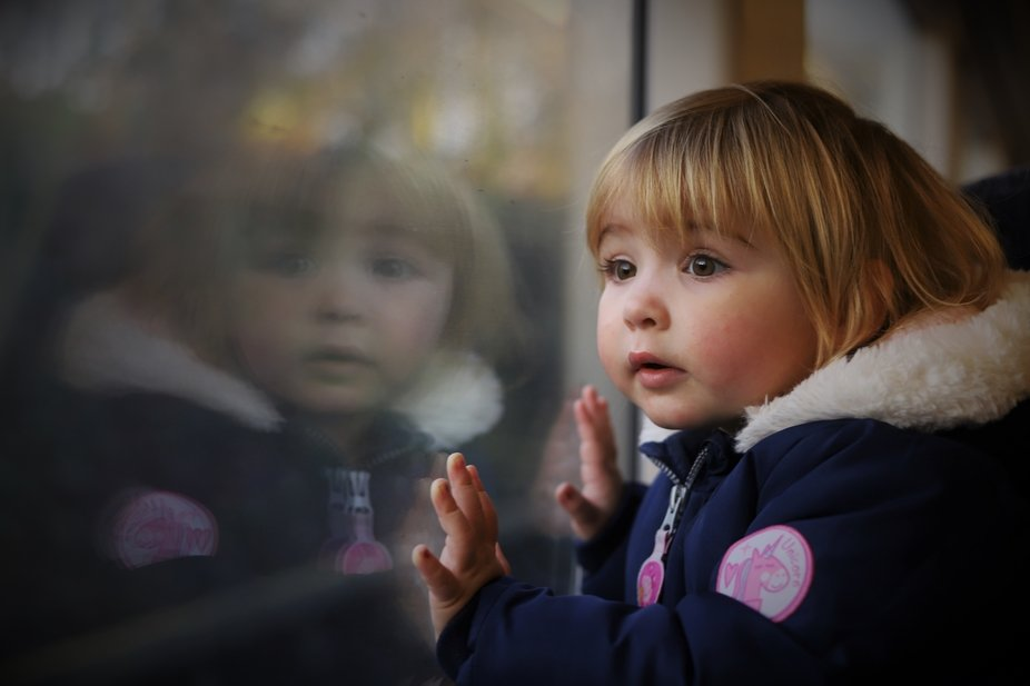 cute reflection