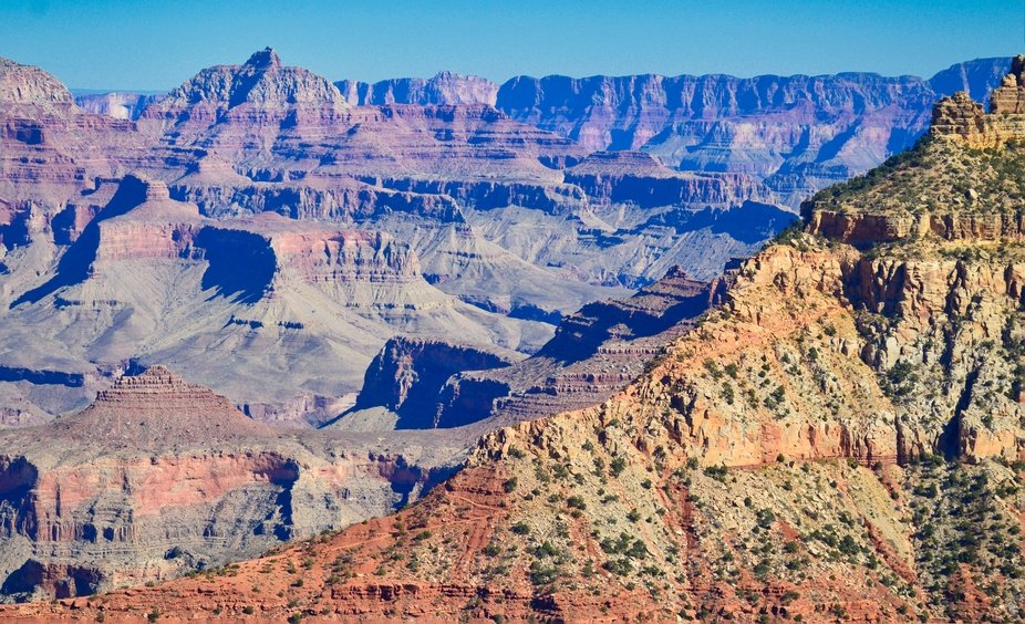 South side of Grand Canyon