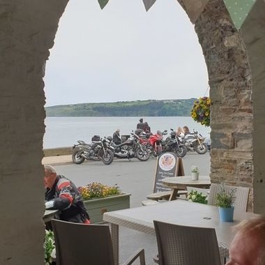 Laxey beach cafe in the IOM