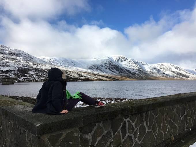 Glen Turret reservoir, Or Loch Turret you choose. February 2016 Half term break.
