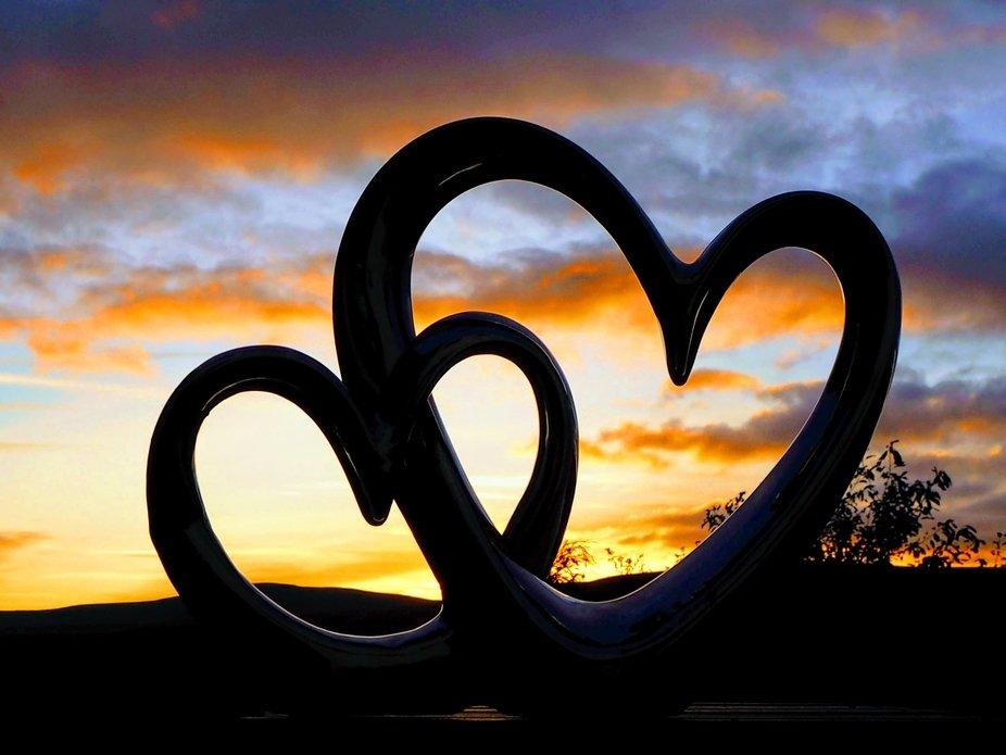 Sunset in Cumbria