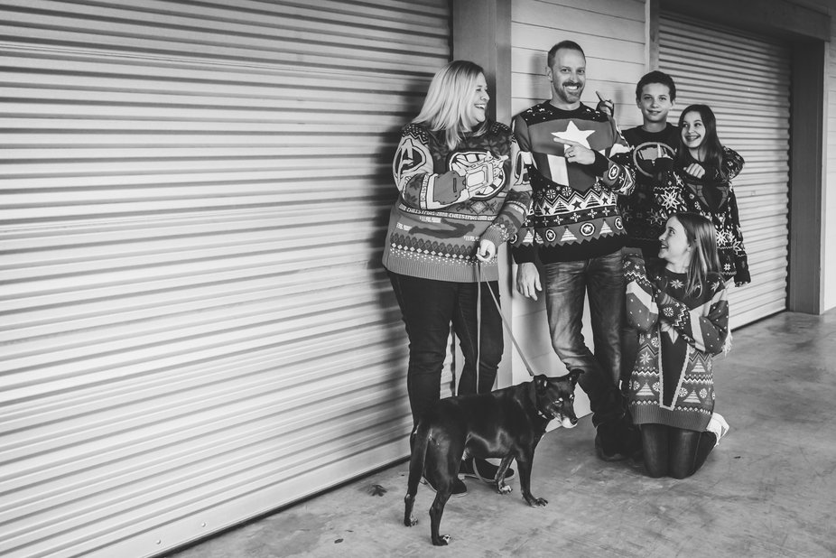 Christmas Mini Sweater Session