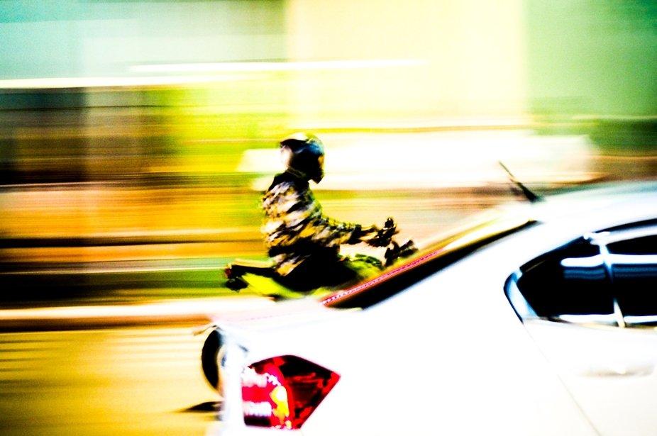 Motorbike, Bangkok, Thailand