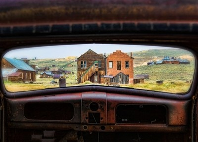 Window Frame At Bodie