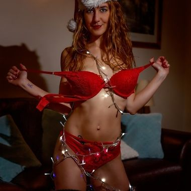 A Christmas shoot with the beautiful model Jai Amie.