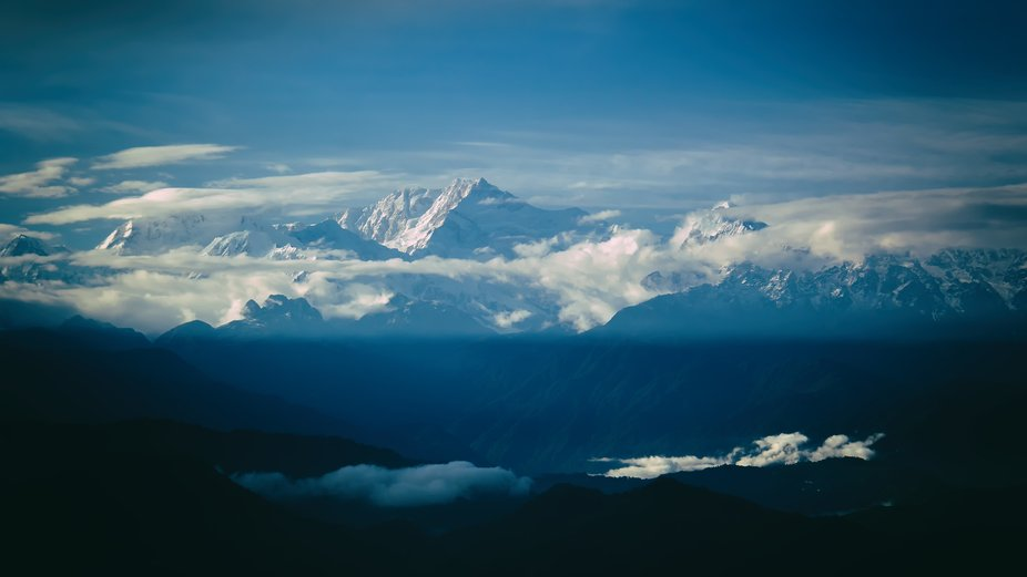 Kangchenjunga, also spelled Kanchenjunga, is the third highest mountain in the world, and lies pa...