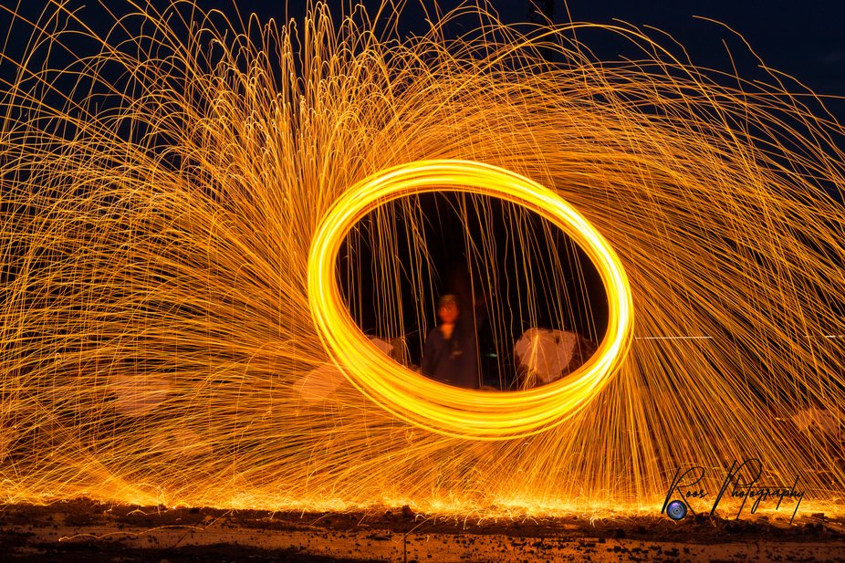 First attempt at steel wool photography