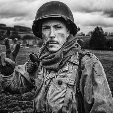 The battle of the bulge, Reenactment camp Manhay (Belgium) 14.12.2019