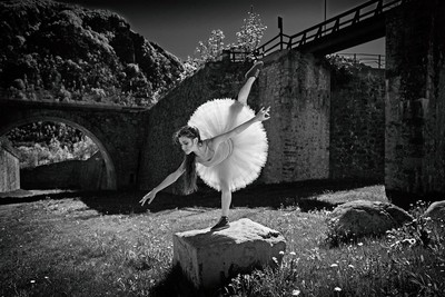 Dance in the fortress of Vinadio
