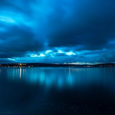 Moody skies, Hood Canal, Washington, USA