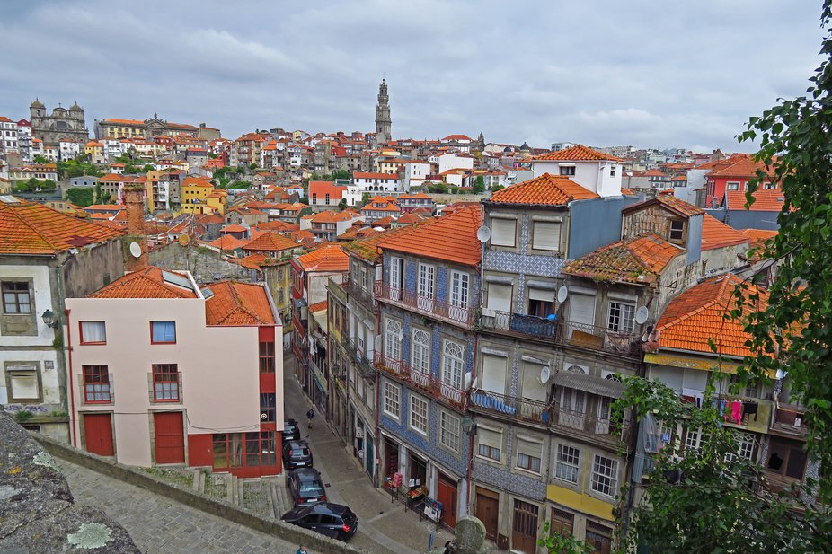 The rooftops of Porto