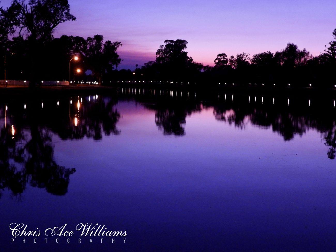 Wide Shot of Lake
