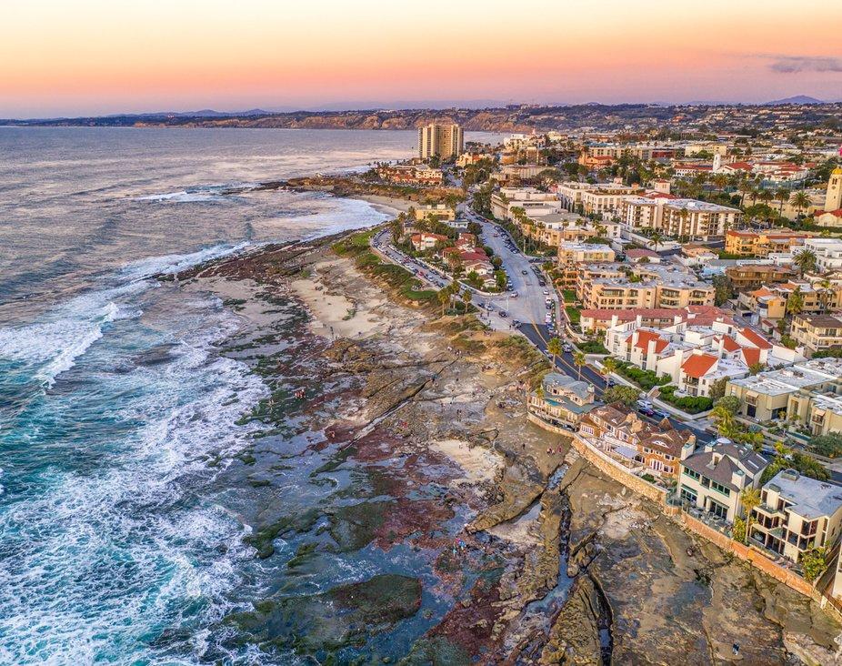 La Jolla is a community in San Diego