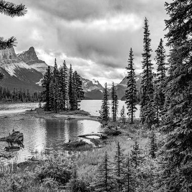 Black and White image of Spirit Island