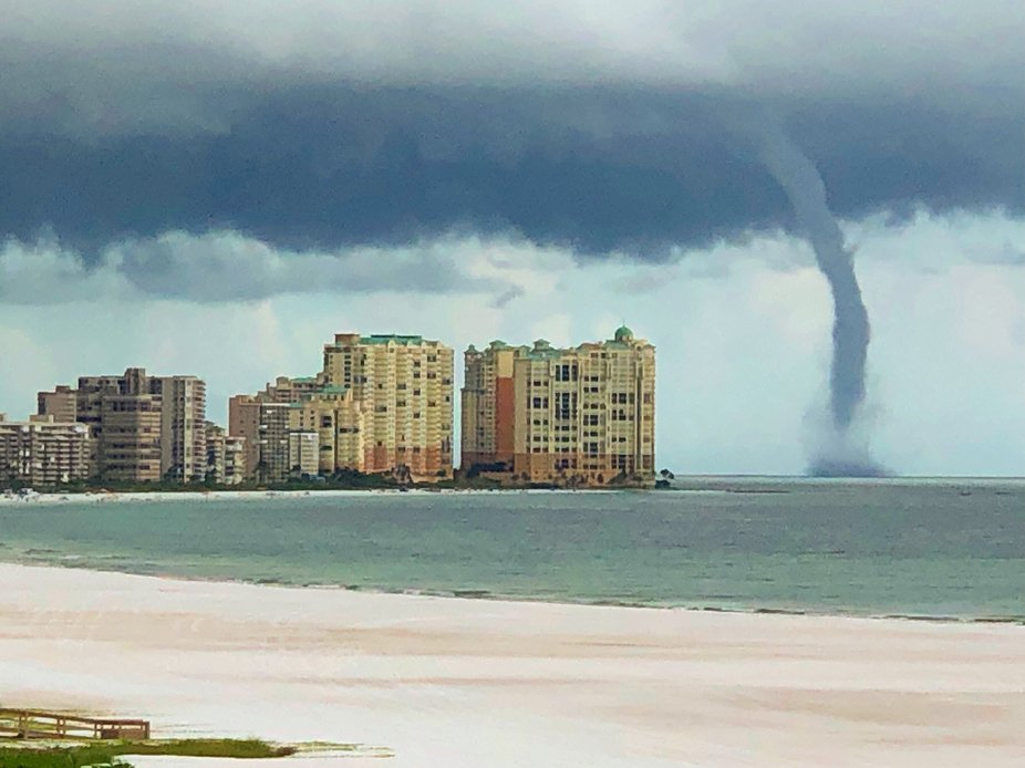 Water spout in Florida
