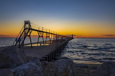 Manistee Sunset